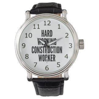 Hard Working Construction Worker Watch