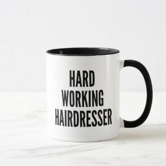 Hard Working Hairdresser Mug