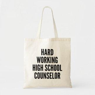 Hard Working High School Counselor