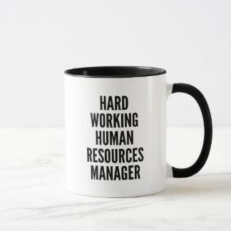 Hard Working Human Resources Manager Mug