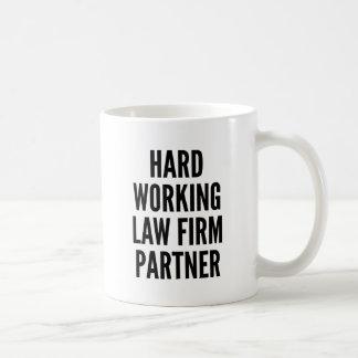 Hard Working Law Firm Partner Coffee Mug