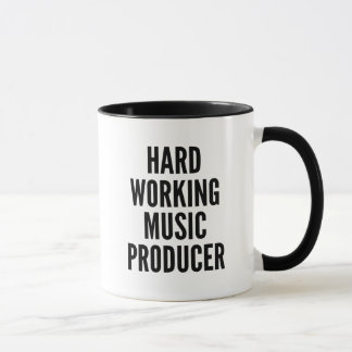 Hard Working Music Producer