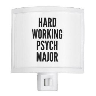 Hard Working Psych Major Night Lites