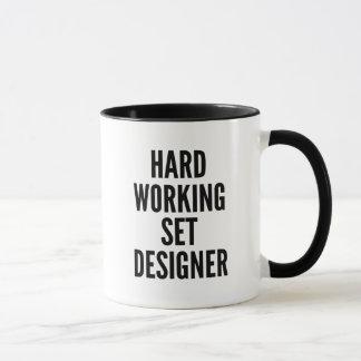 Hard Working Set Designer Mug