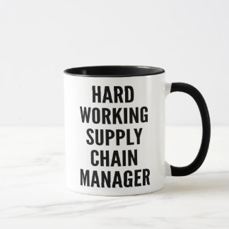 Hard Working Supply Chain Manager Mug