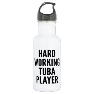 Hard Working Tuba Player 532 Ml Water Bottle