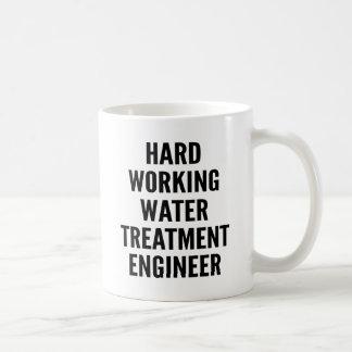 Hard Working Water Treatment Engineer Mugs