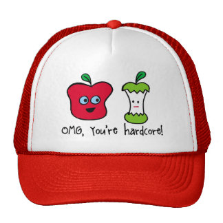 hardcore apple hat
