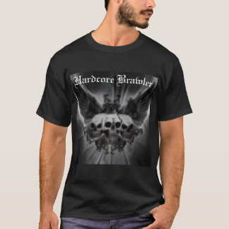 Hardcore Brawler Men's MMA T-Shirt