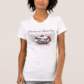 Hardcore Brawler Women's MMA T-Shirt