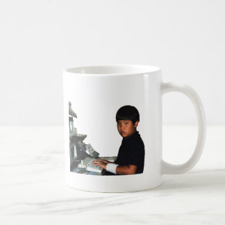 Hardcore Coder with Wristband Coffee Mug