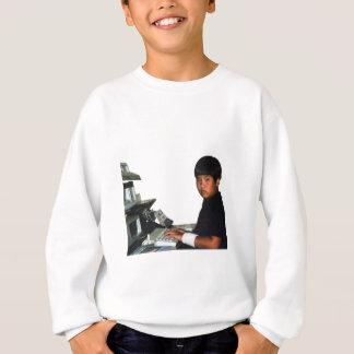 Hardcore Coder with Wristband Sweatshirt