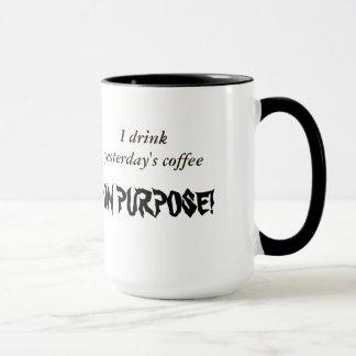 Hardcore Coffee Drinker Mug