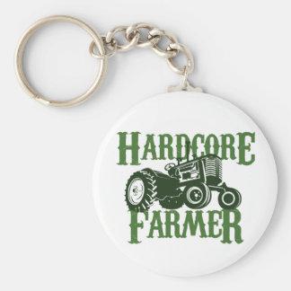 Hardcore Farmer Keychain