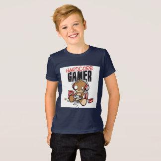 Hardcore gamer boys tshirt