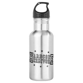 Hardcore Herbivore (blk) 532 Ml Water Bottle