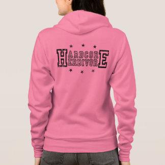 Hardcore Herbivore (blk) Hoodie