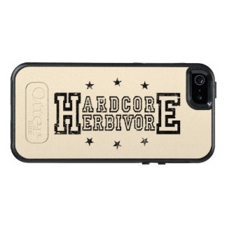 Hardcore Herbivore (blk) OtterBox iPhone 5/5s/SE Case