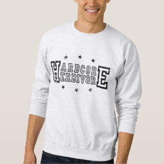 Hardcore Herbivore (blk) Sweatshirt