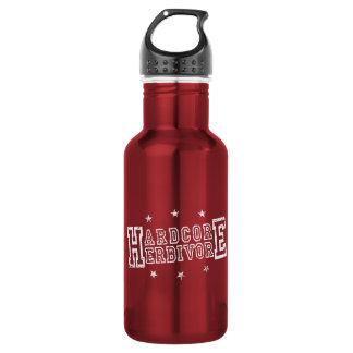 Hardcore Herbivore (wht) 532 Ml Water Bottle