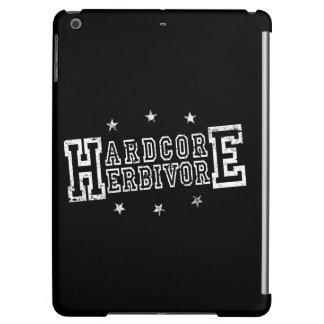 Hardcore Herbivore (wht) Cover For iPad Air