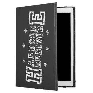 "Hardcore Herbivore (wht) iPad Pro 12.9"" Case"