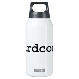 hardcore. insulated water bottle