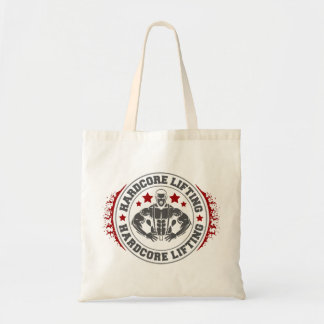 Hardcore Lifting Flexing Bodybuilder Tote Bag