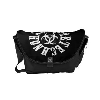 Hardcore Techno - Bag Messenger Bag