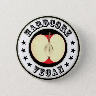 Hardcore Vegan 2 Inch Round Button