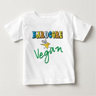 Hardcore Vegan Baby T-Shirt