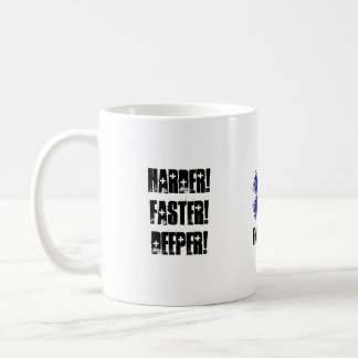 Harder Faster Deeper Calm Down Talking About CPR Coffee Mug