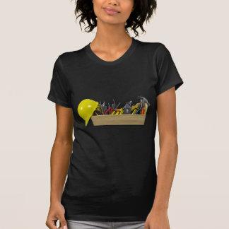 HardHatLongWoodenToolbox091711 T-Shirt