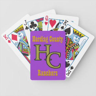 Harding County Ranchers Bicycle Playing Cards