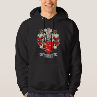 Harding Family Crest Coat of Arms Hoodie