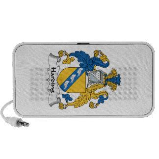 Harding Family Crest iPhone Speaker