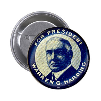 Harding for President - Button