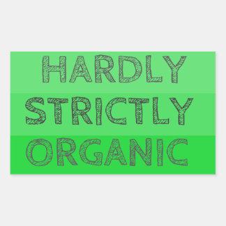 Hardly Strictly Organic