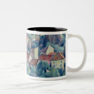 Hardricourt Village and Castle Mugs