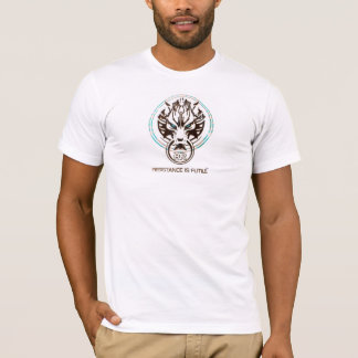 Hardstyle HR Resistance Is Futile T-Shirt