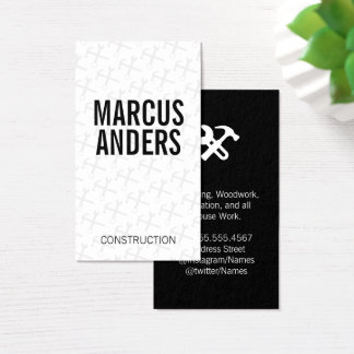 Hardware Tools Business Card