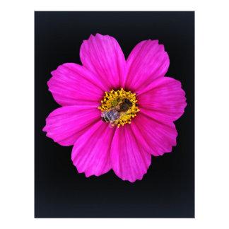 hardworking bee customized letterhead
