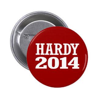 HARDY 2014 PINBACK BUTTON