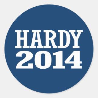 HARDY 2014 STICKER