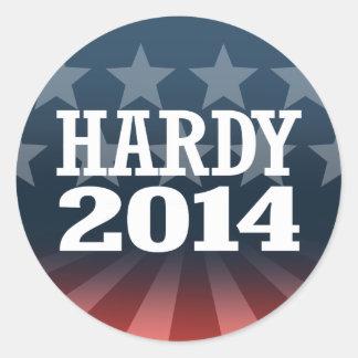 HARDY 2014 STICKERS