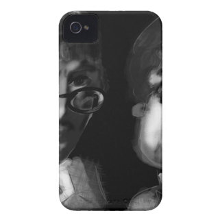 Hardy and Ramanujan Happy Pi Day iPhone 4 Cover