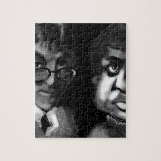 Hardy and Ramanujan Happy Pi Day Jigsaw Puzzle