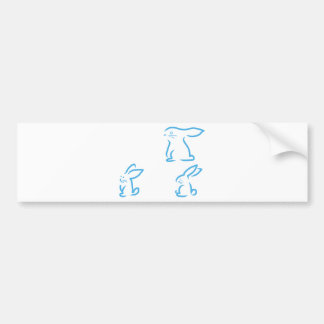 Hare #2 bumper sticker