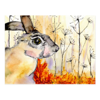 Hare art card (a388)
