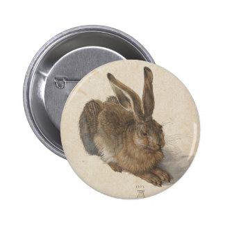 Hare by Albrecht Durer 2 Inch Round Button